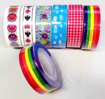 たまにはデコって「デザインテープ」5名様にプレゼント