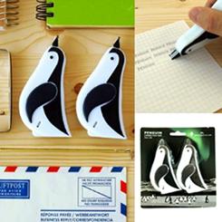よちよち感がカワイイ「ペンギン修正テープ」3名様にプレゼント