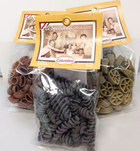 イタリア伝統の味「COLUMBRO カラーパスタ」3名様にプレゼント