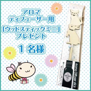 アロマディフューザー用「ウッドスティックミニ」を1名様にプレゼント 札幌