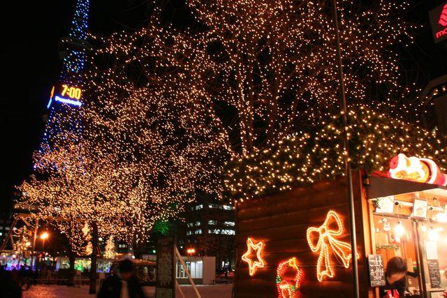 本場ドイツのクリスマス  第14回ミュンヘン・クリスマス市 大通 (11/27〜12/24) 札幌
