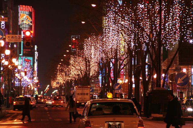 第35回さっぽろホワイトイルミネーション 南一条通会場 中央区 (11/20〜3/14) 札幌