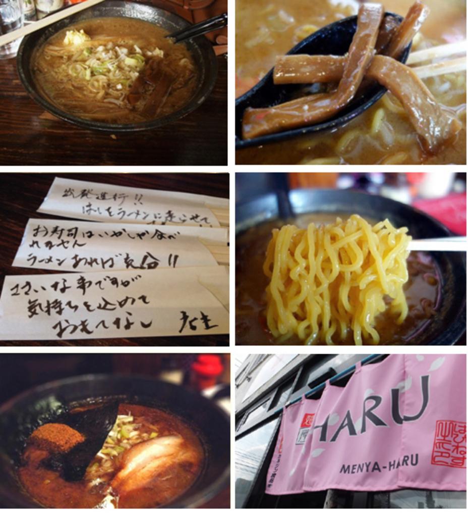 TV番組で紹介。 話題のラーメン店 麺屋HARU 北区 (11/7〜27) 札幌